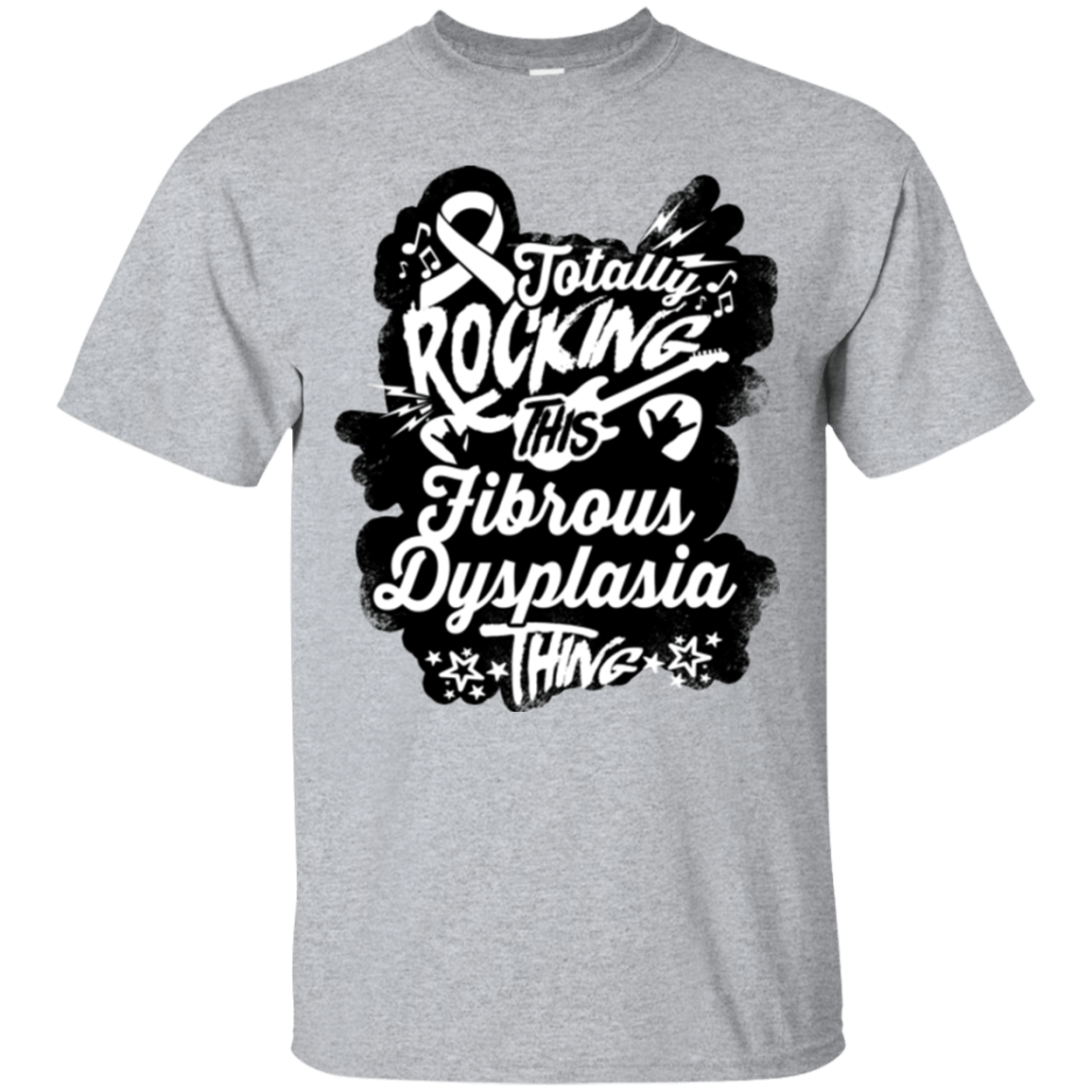 Rocking Fibrous Dysplasia Unisex Shirt - The Unchargeables