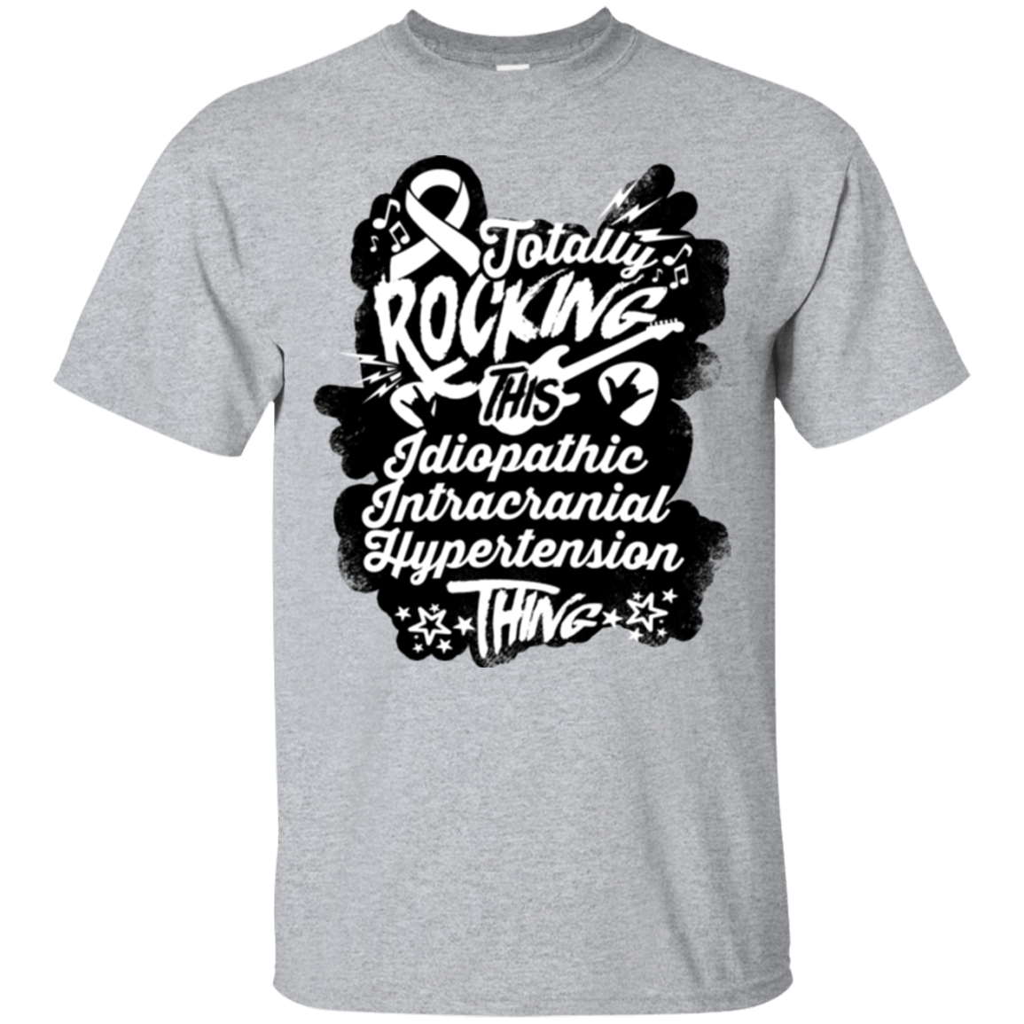T-Shirts - Rocking Idiopathic Intracranial Hypertension Unisex Shirt