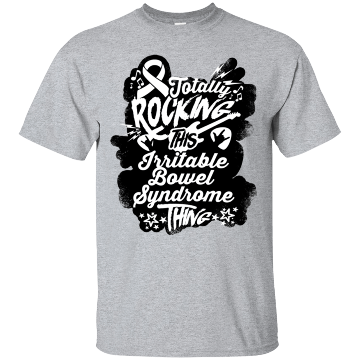 T-Shirts - Rocking Irritable Bowel Syndrome Unisex Shirt