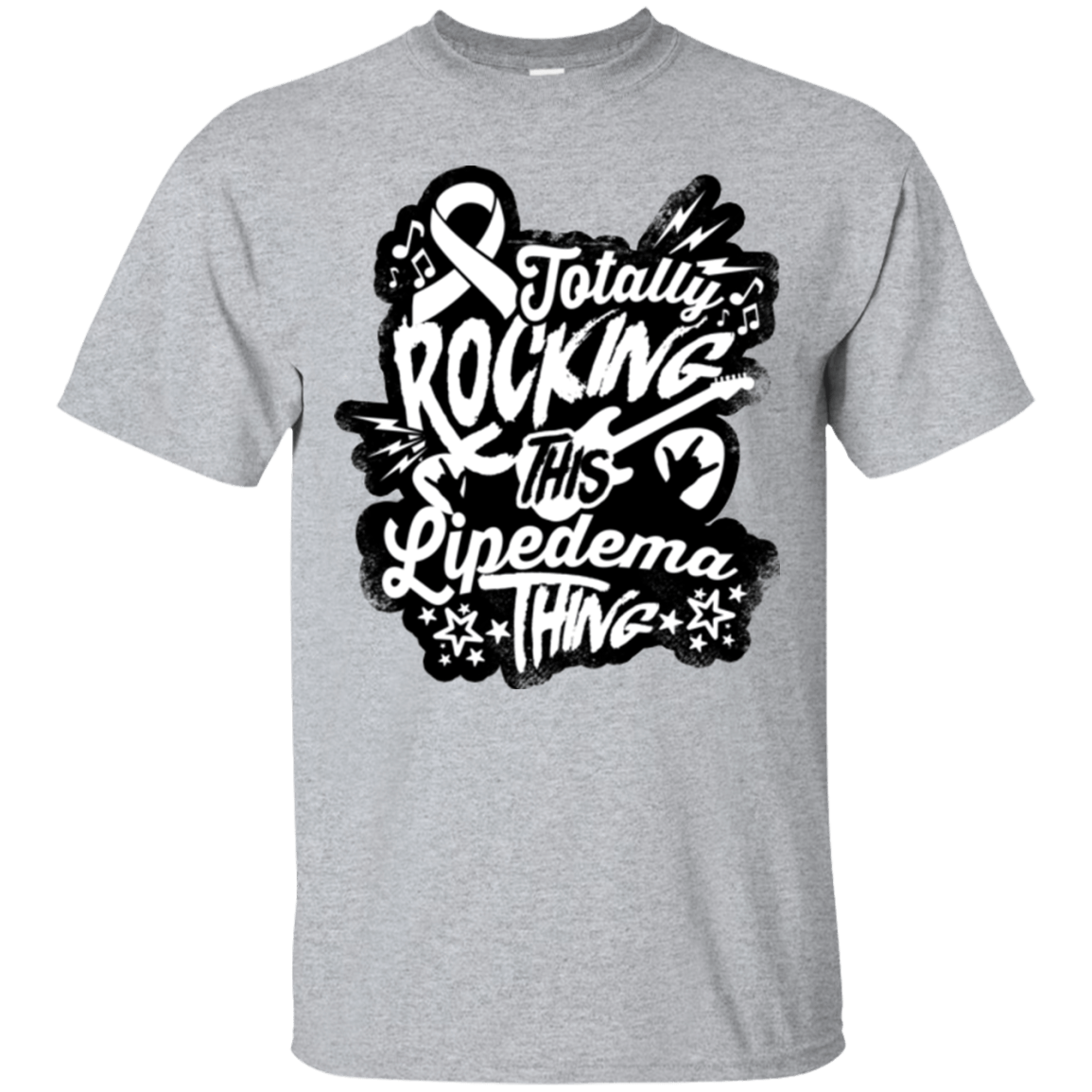 T-Shirts - Rocking Lipedema Unisex Shirt
