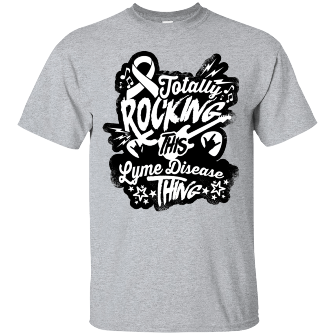 Rocking Lyme Disease Unisex Shirt - The Unchargeables