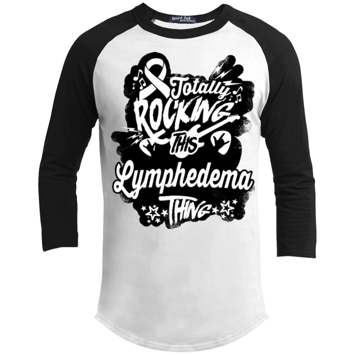 Rocking Lymphedema Baseball Shirt - The Unchargeables