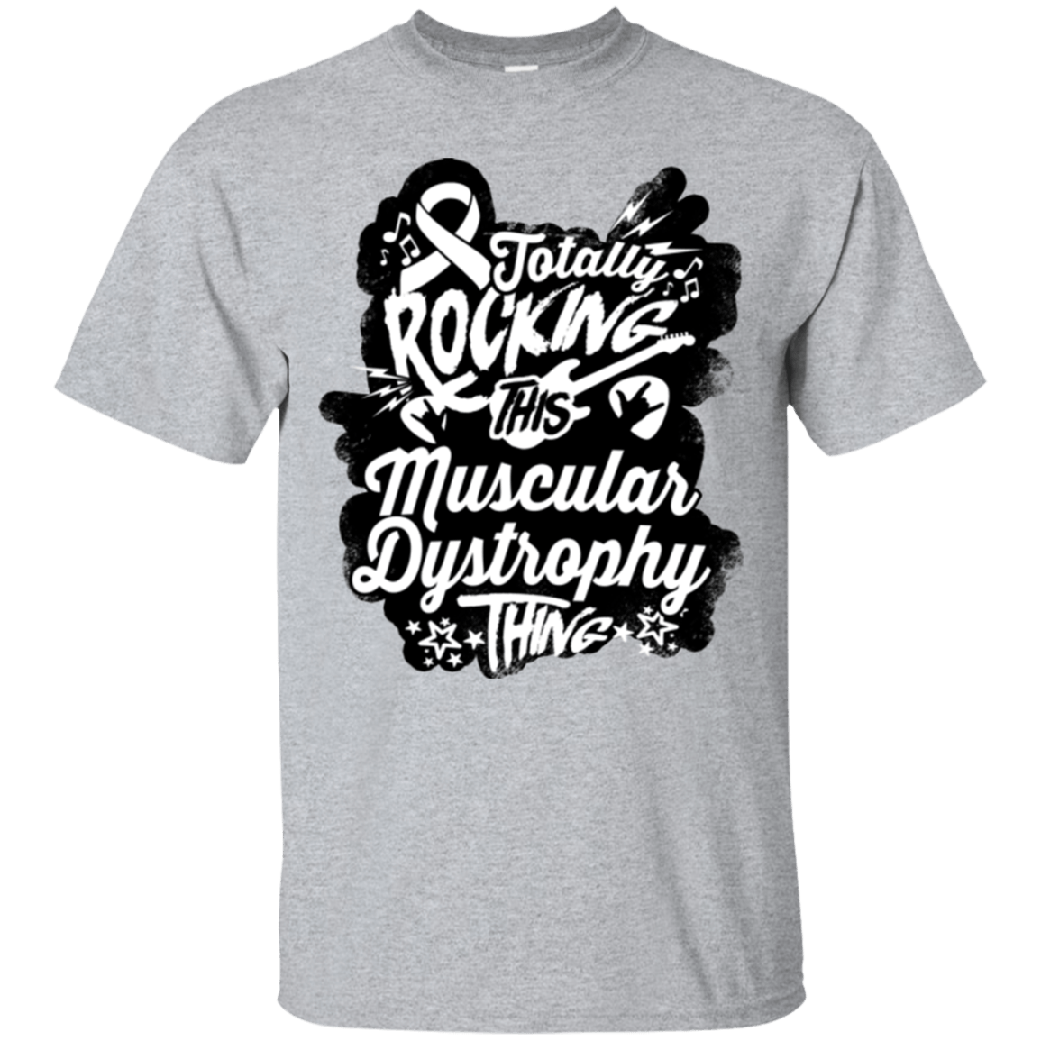 Rocking Muscular Dystrophy Unisex Shirt - The Unchargeables