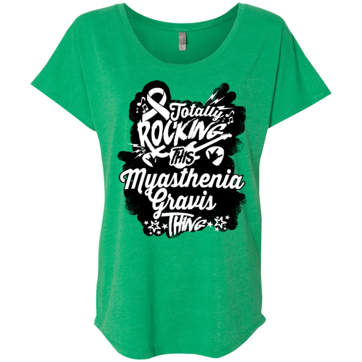 Rocking Myasthenia Gravis Dolman Sleeve - The Unchargeables