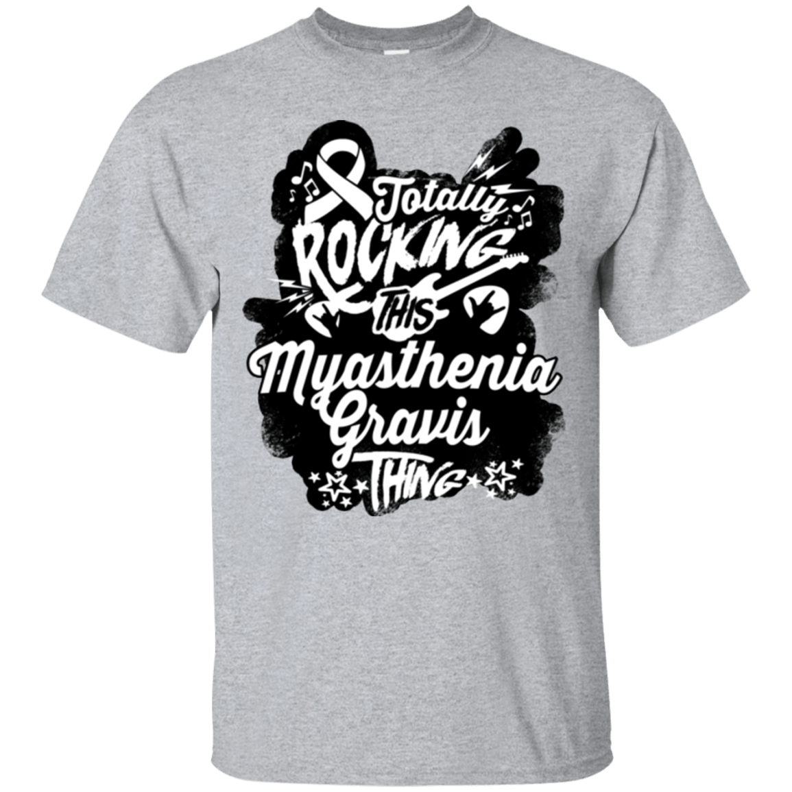 Rocking Myasthenia Gravis Unisex Shirt - The Unchargeables