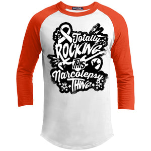 Rocking Narcolepsy Baseball Shirt - The Unchargeables