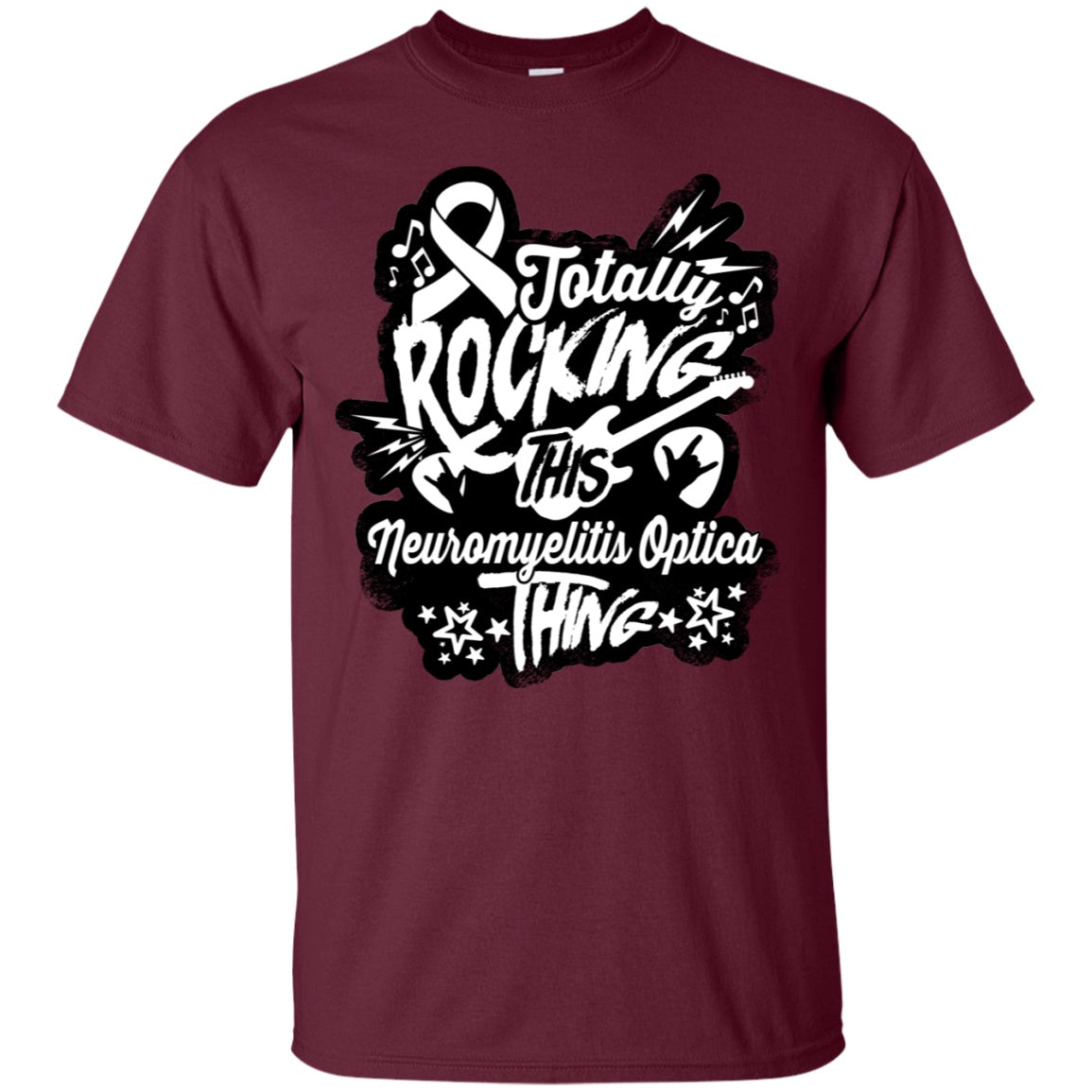 Rocking Neuromyelitis Optica Unisex Shirt - The Unchargeables