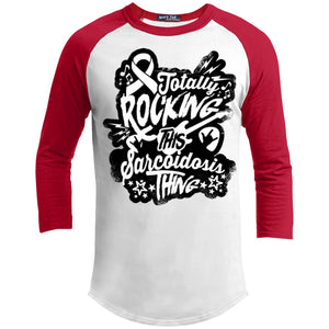 T-Shirts - Rocking Sarcoidosis Baseball Shirt