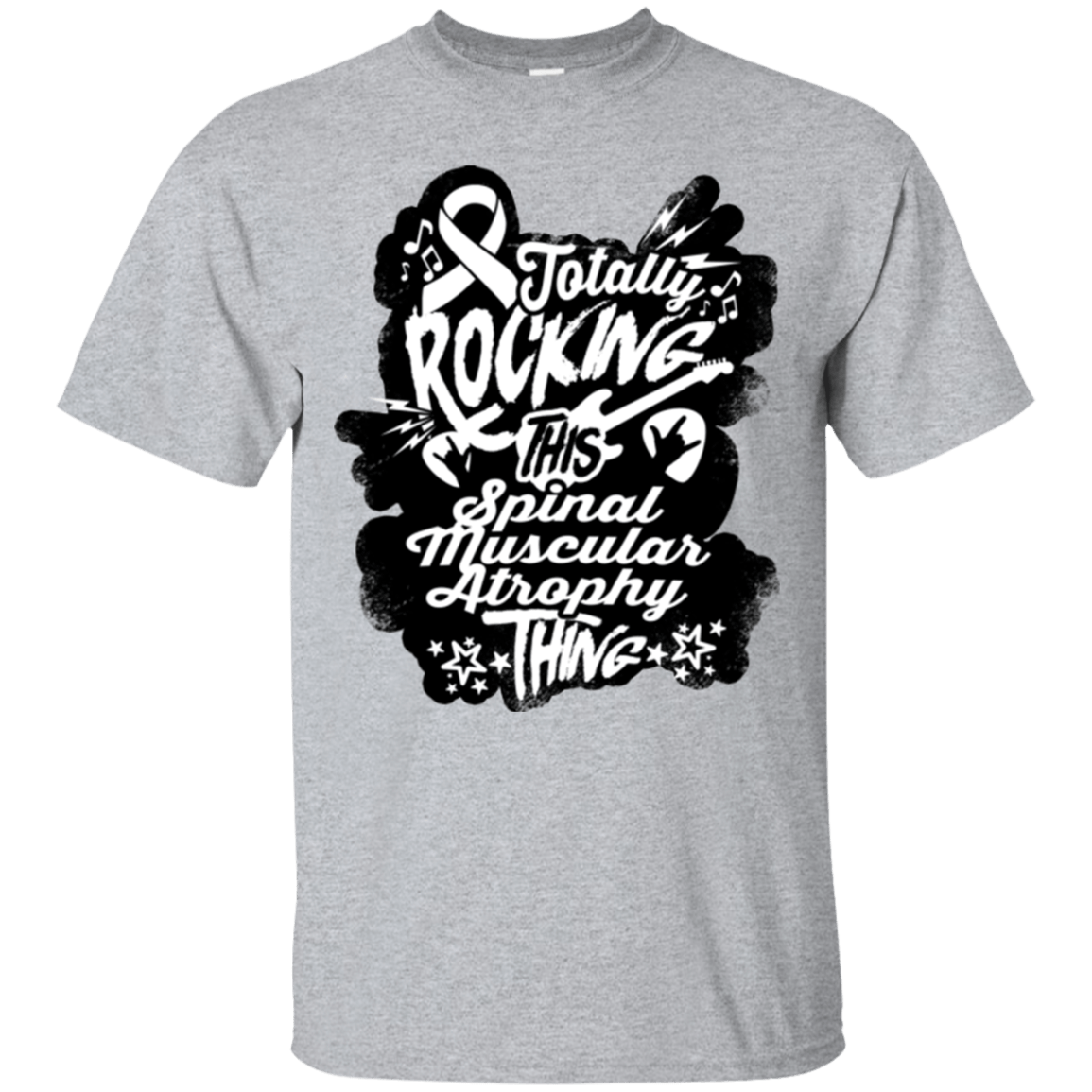 T-Shirts - Rocking Spinal Muscular Atrophy Unisex Shirt