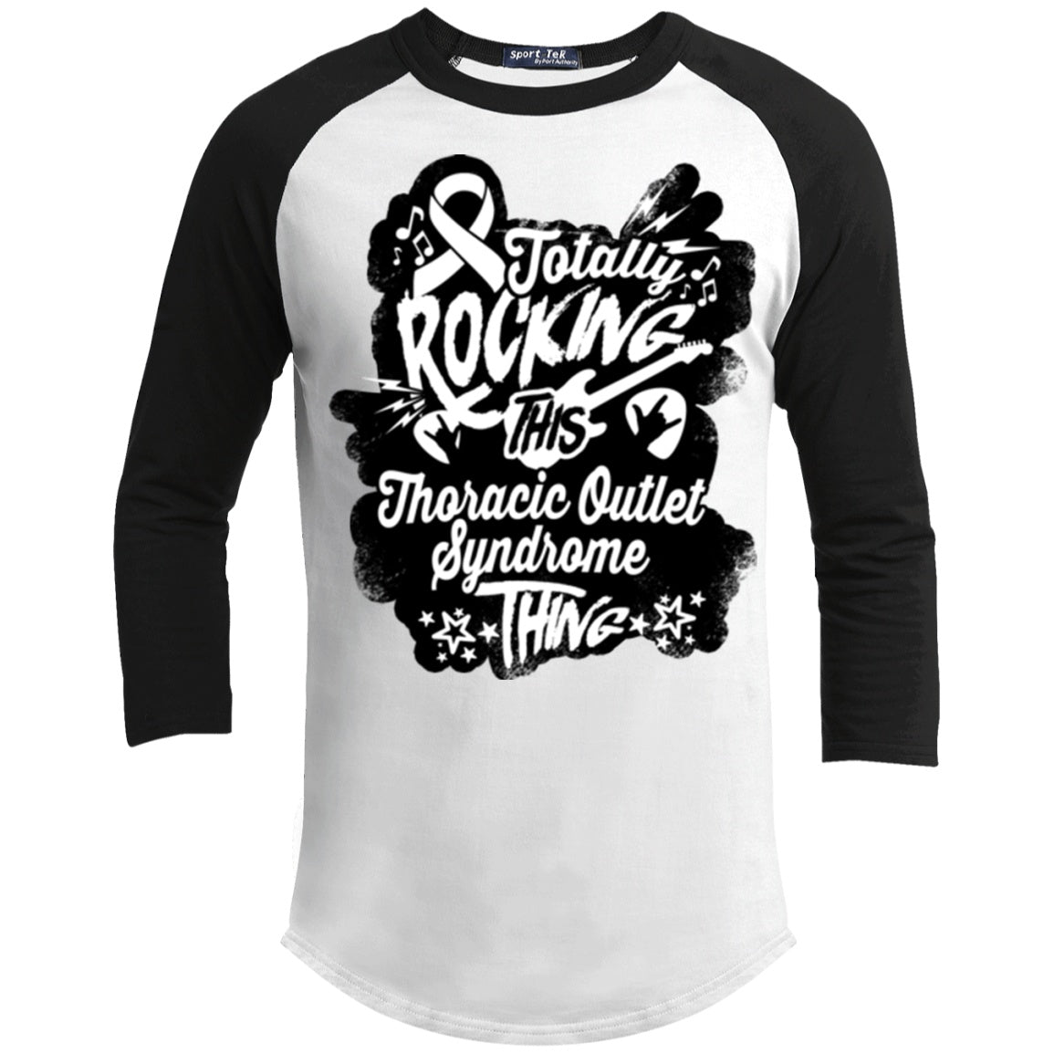 T-Shirts - Rocking Thoracic Outlet Syndrome Baseball Shirt