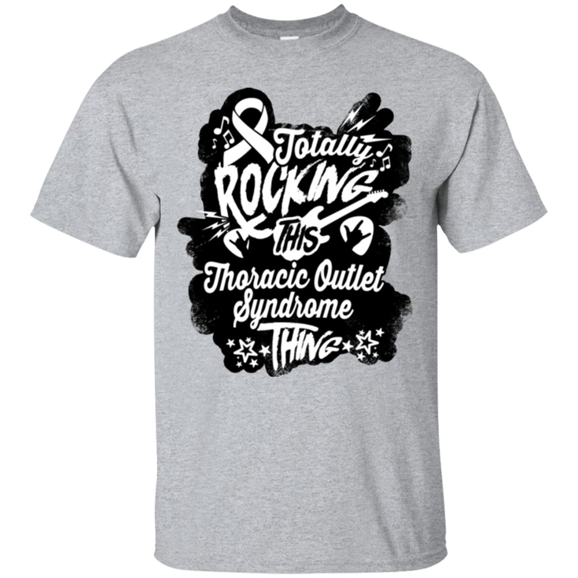 T-Shirts - Rocking Thoracic Outlet Syndrome Unisex Shirt