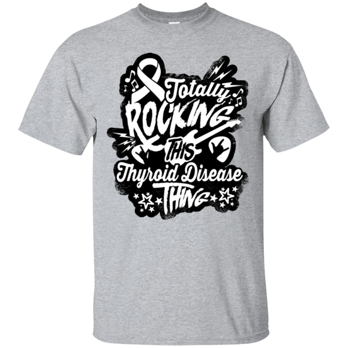 T-Shirts - Rocking Thyroid Disease Unisex Shirt