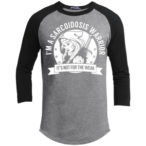T-Shirts - Sarcoidosis Warrior Hooded Baseball Shirt