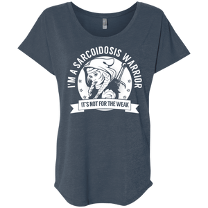 T-Shirts - Sarcoidosis Warrior Hooded Dolman Sleeve