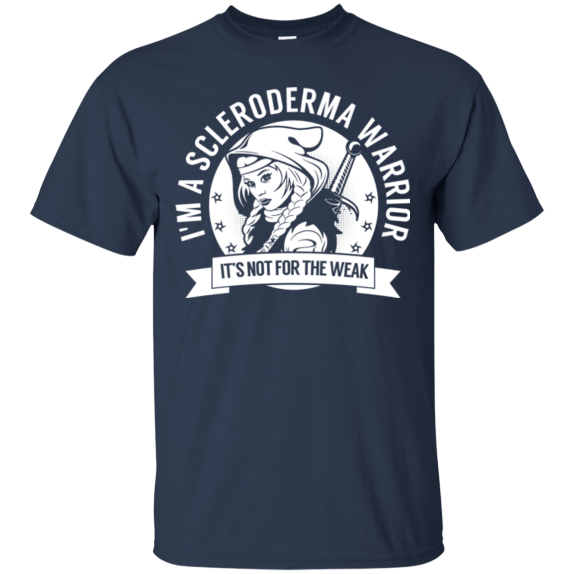 T-Shirts - Scleroderma Warrior Hooded Cotton T-Shirt