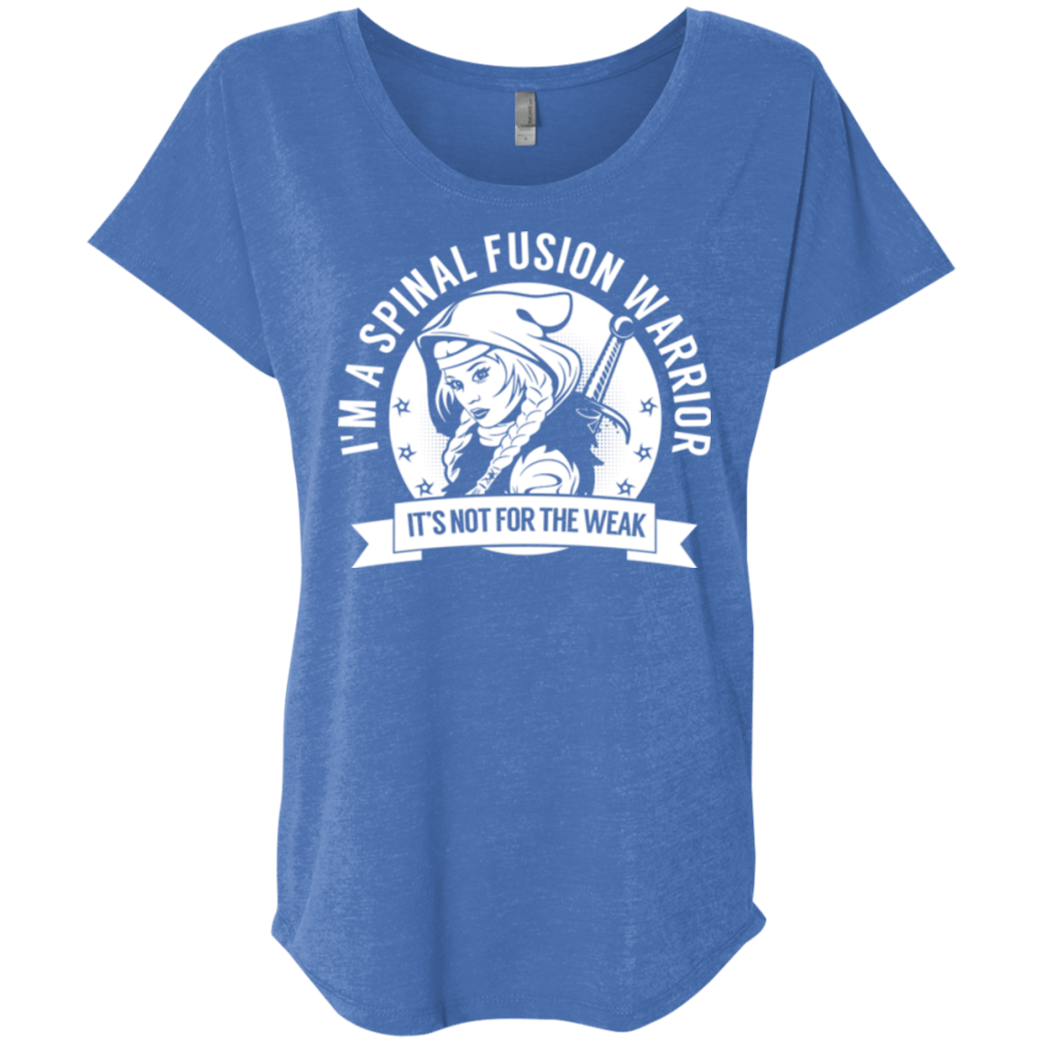 T-Shirts - Spinal Fusion Warrior Hooded Dolman Sleeve