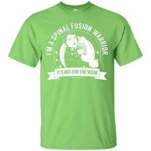 Spinal Fusion Warrior Not For The Weak Unisex Shirt - The Unchargeables