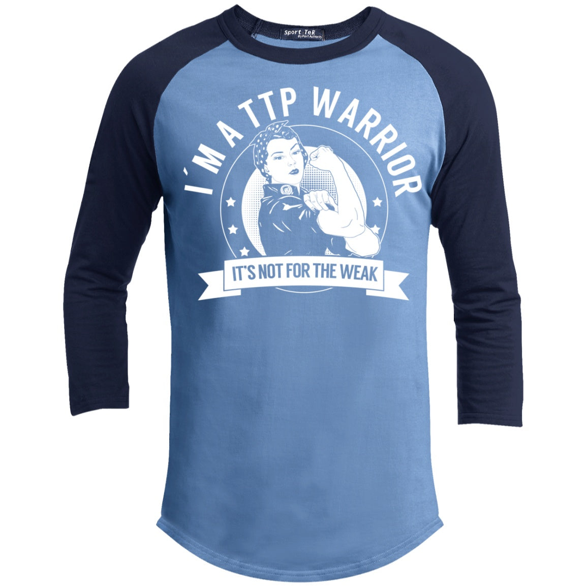 Thrombotic Thrombocytopenic Purpura - TTP Warrior NFTW Baseball Shirt - The Unchargeables