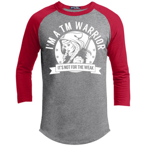 T-Shirts - Transverse Myelitis - TM Warrior Hooded Baseball Shirt