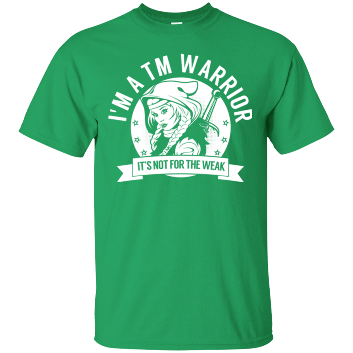 T-Shirts - Transverse Myelitis - TM Warrior Hooded Cotton T-Shirt
