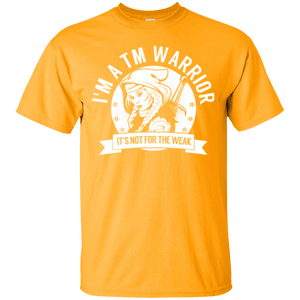 Transverse Myelitis - TM Warrior Hooded Cotton T-Shirt - The Unchargeables