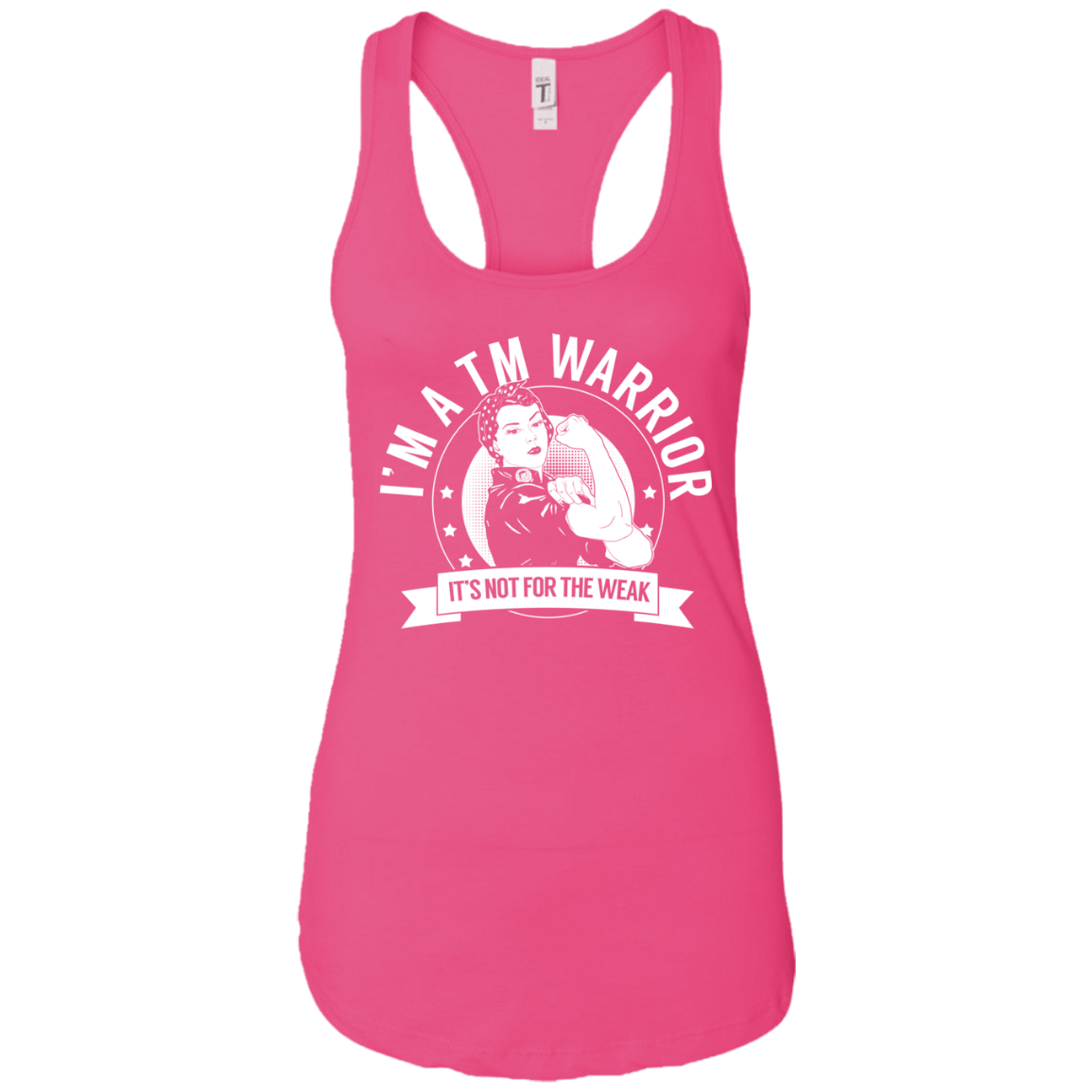 Transverse Myelitis - TM Warrior NFTW Ideal Racerback Tank