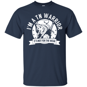 Trigeminal Neuralgia - TN Warrior Hooded Cotton T-Shirt - The Unchargeables