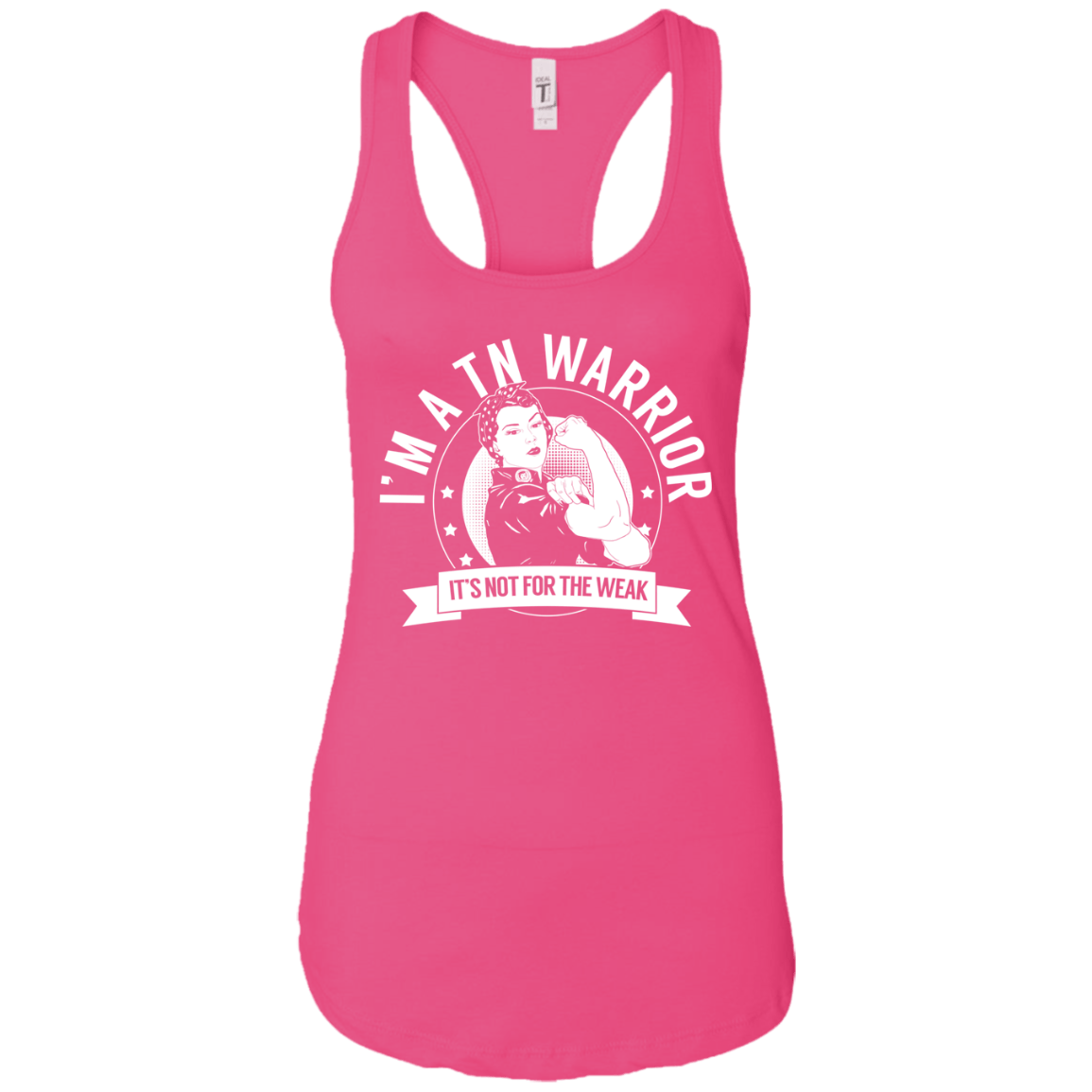 Trigeminal Neuralgia - TN Warrior NFTW Ideal Racerback Tank - The Unchargeables