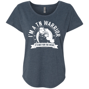 Trigeminal Neuralgia - TN Warrior Not For The Weak Dolman Sleeve - The Unchargeables