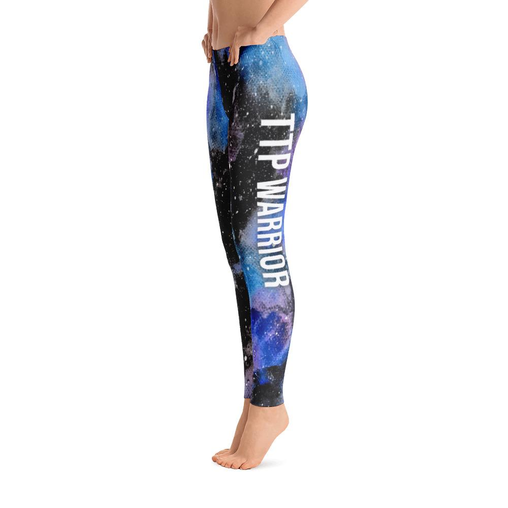Thrombotic Thrombocytopenic Purpura - TTP Warrior NFTW Black Galaxy Leggings - The Unchargeables