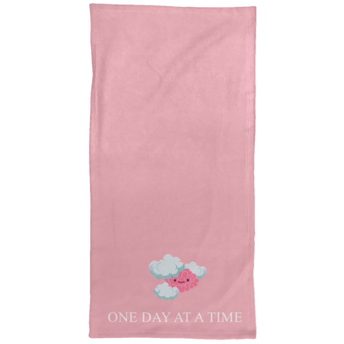 One Day At A Time Chargimal Hand Towel - 15x30