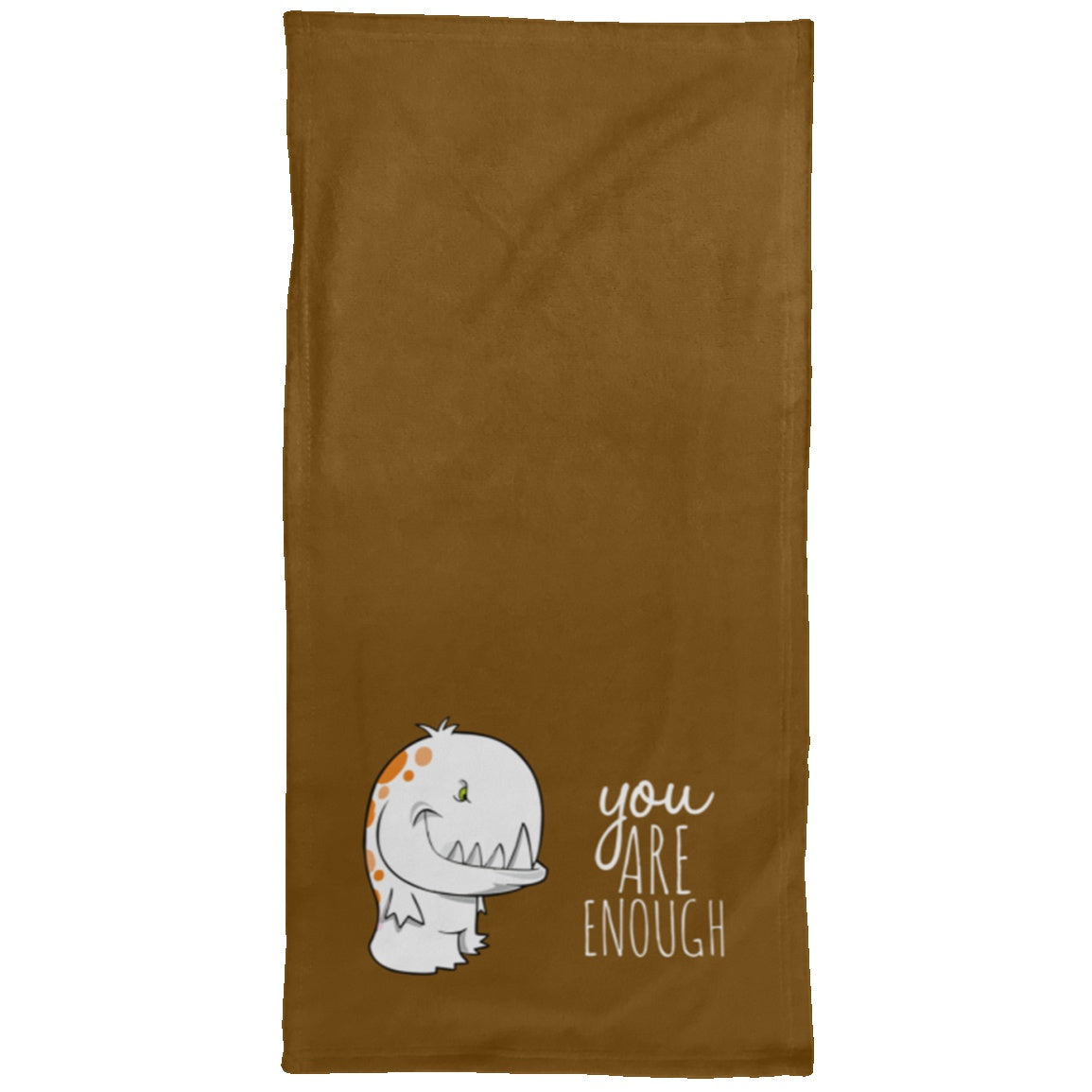 You Are Enough Chargimal Hand Towel - 15x30