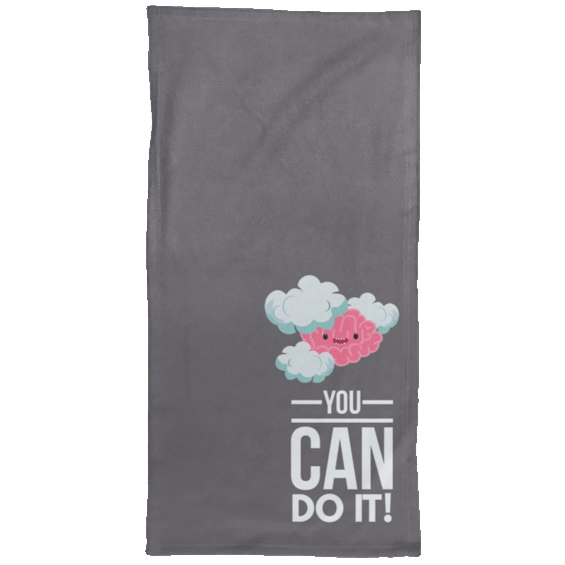 You Can Do It chargimal Hand Towel - 15x30