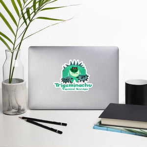 Trigaminachu the Trigeminal Neuralgia Monster Sticker - The Unchargeables