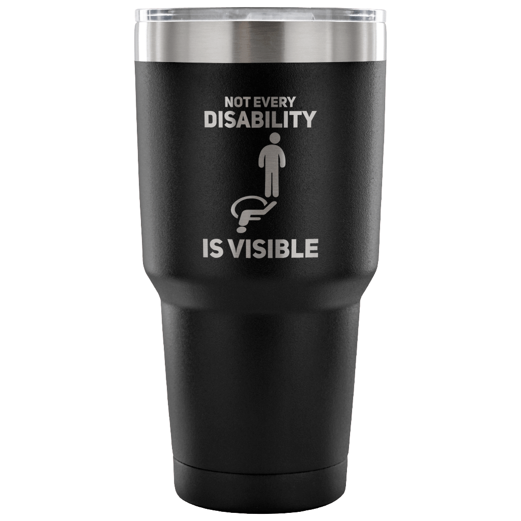 Invisible Disability Tumbler - The Unchargeables