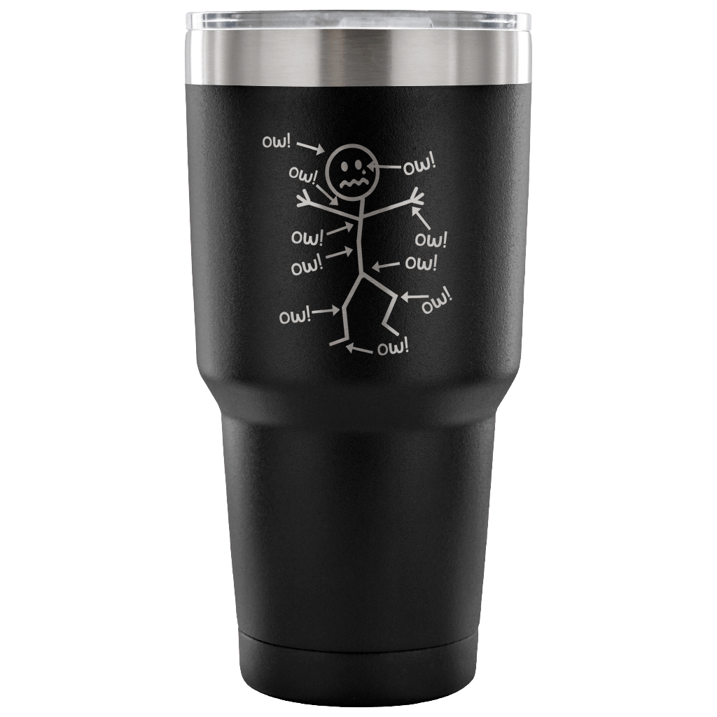Ow Ow Ow Tumbler - The Unchargeables