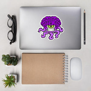 Zippy the Chiari Malformation Monster Sticker - The Unchargeables