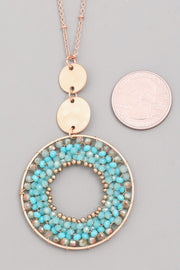 In The Middle Necklace - Turquoise