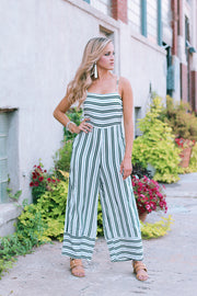 Sweet Thang Striped Jumpsuit