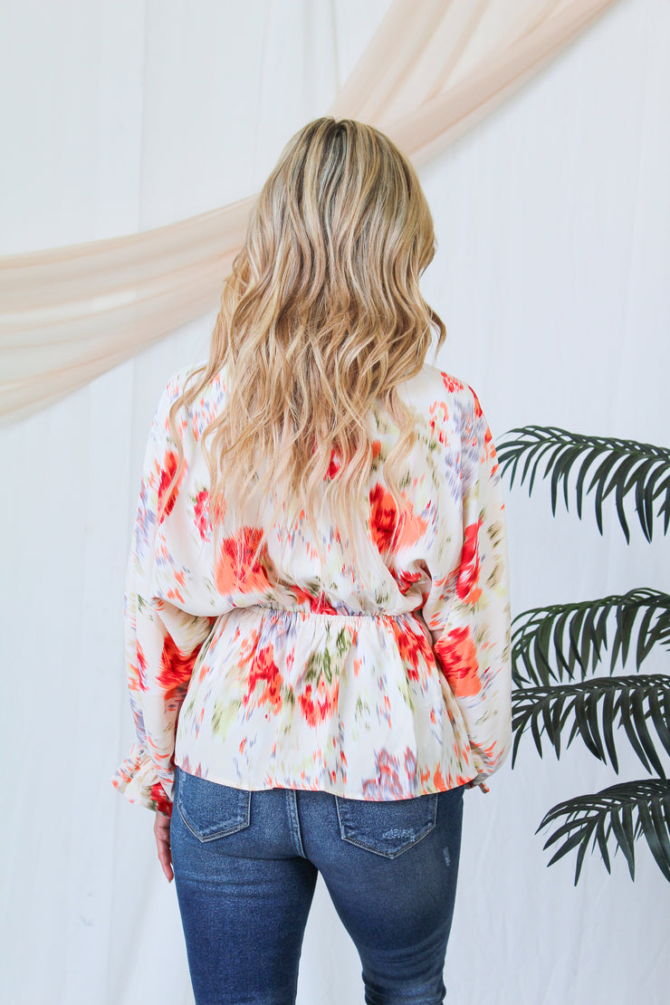 Perfectly Glam Bubble Top - Sage