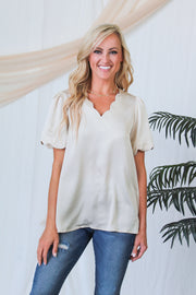Heaven Sent Wrap Top - Black