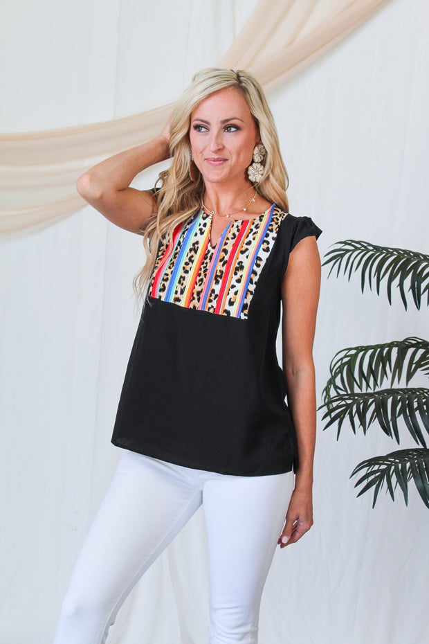 Nonstop Glam Leopard Blazer - Brown