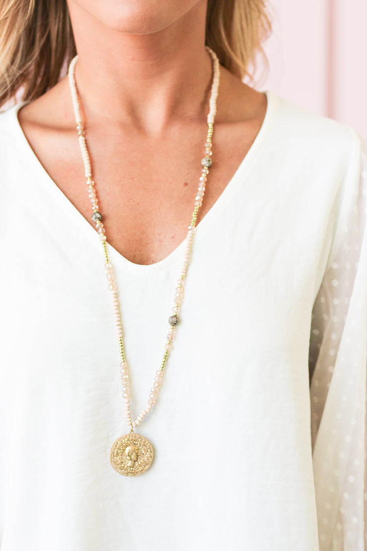 Luxe Life Coin Necklace
