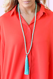 Fiesta Friday Tassel Necklace