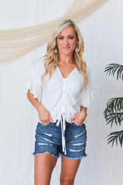 Let's Cruise Camo Top
