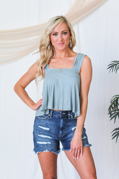 The Gigi Reptile Mule - Grey