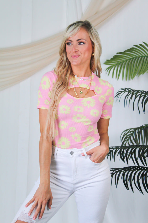 Around Town Pocket Tee - Deep Sage