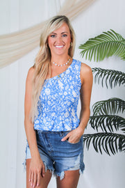 Flirt & Float Leopard Print Top