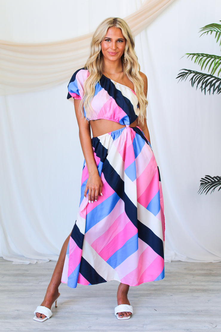 Fall Florals Lace Up Top - Grey