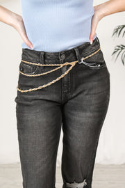 Charmed Rope Chain Belt